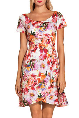 Display product reviews for Floral blooms dress