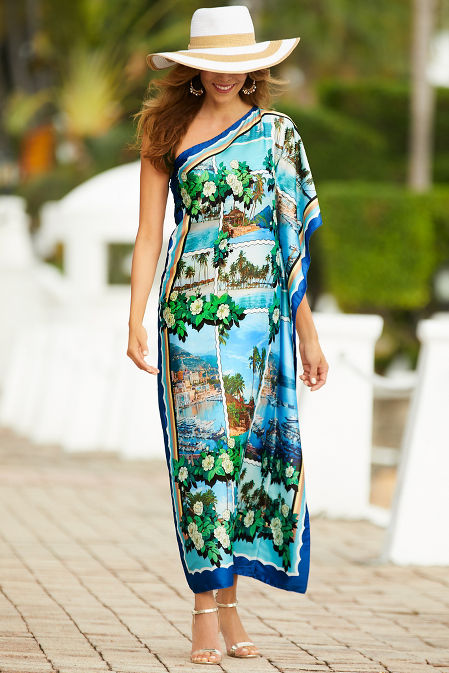 Scenic one shoulder dress image