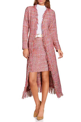 tweed fringe duster