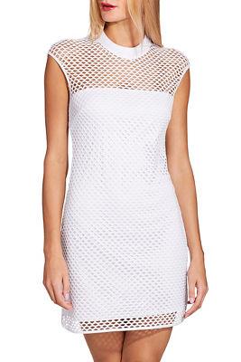 Cap sleeve mesh sport dress