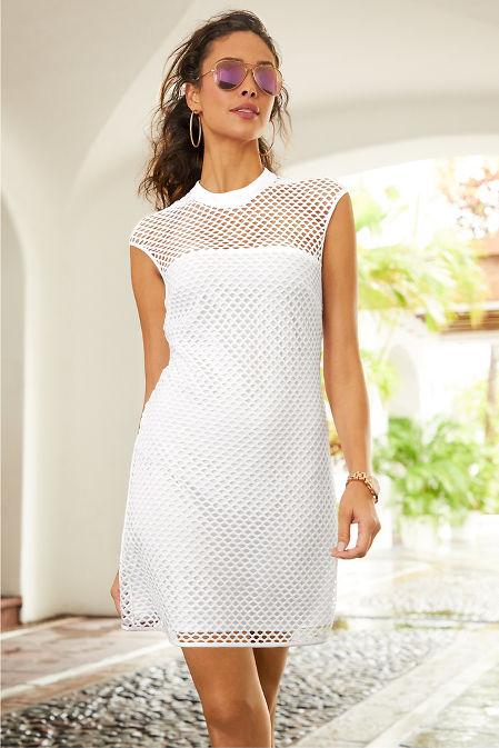 Cap sleeve mesh sport dress image