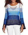 Multi Ombré Stripe Sweater Photo