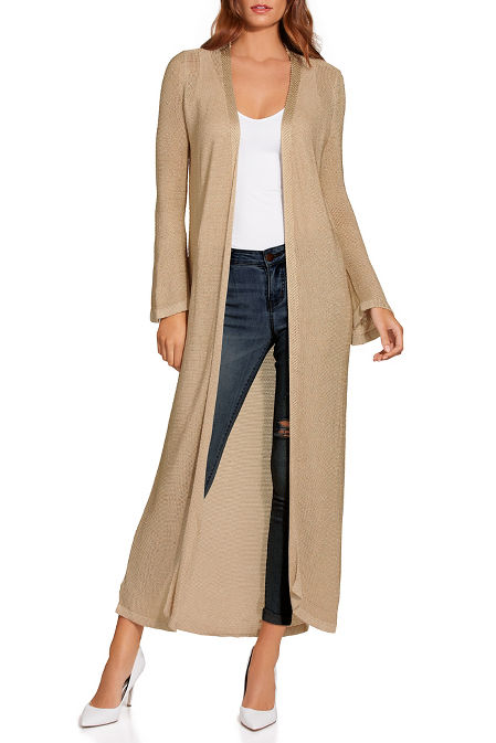 Shimmery duster image