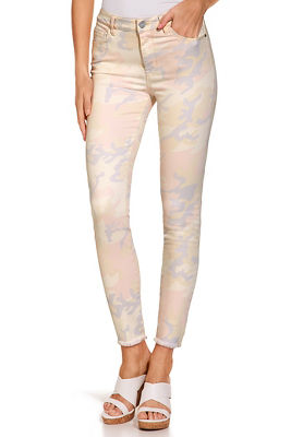 soft camo ankle jean