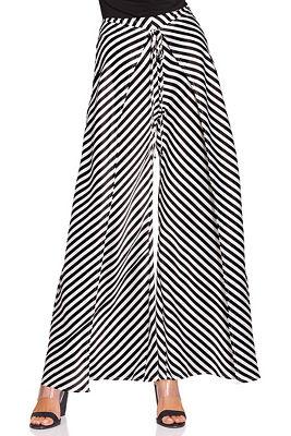stripe flyaway pant