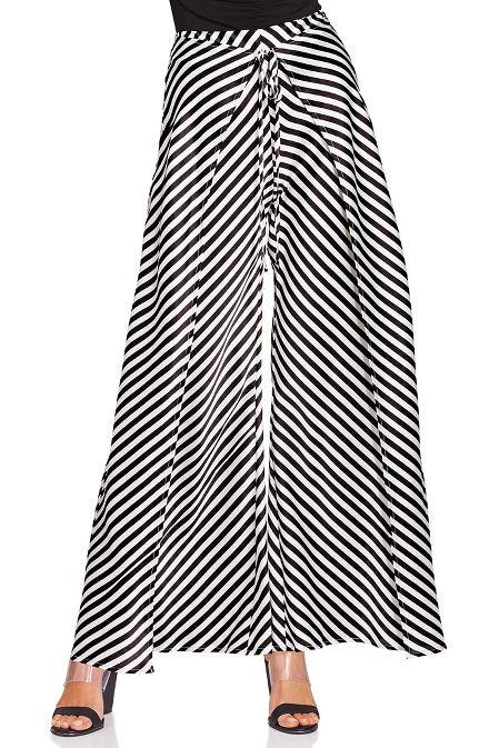 Stripe flyaway pant image