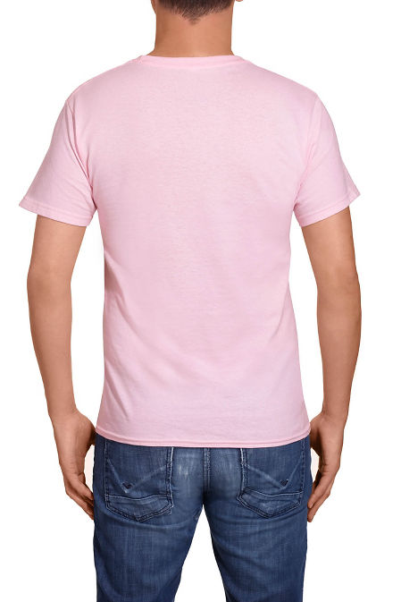 Breast cancer men's tee image