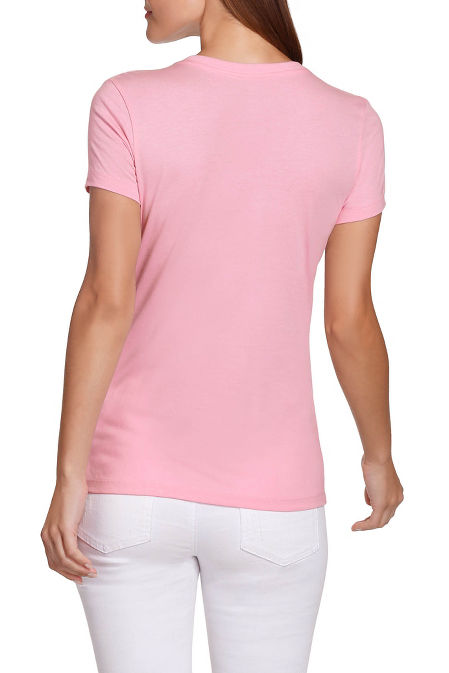 Breast cancer women's tee image