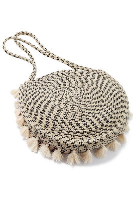 Circle fringe bag