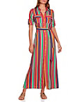 Rainbow Stripe Shirtdress Photo