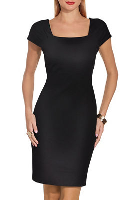 Classic ponte sheath dress