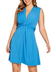 Flirty Knot Front Dress Photo