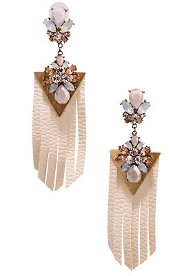 Pastel jewel earrings