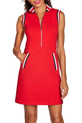 Racer stripe sport dress