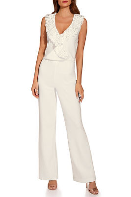 Beyond travel™ eyelet jumpsuit
