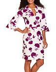 Beyond Travel™ Floral Print Dress Photo