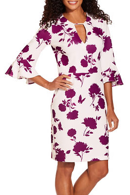 b33b106b6e875f Beyond travel™ floral print dress