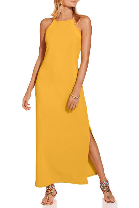 bEYOND TRAVEL™ HIGH NECK MAXI DRESS image