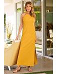 Beyond Travel™ High Neck Maxi Dress Photo