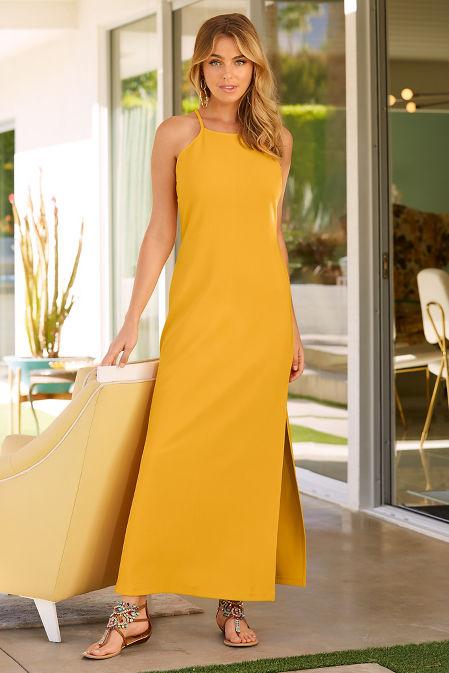 bEYOND TRAVEL™ HIGH NECK MAXI DRESS image