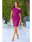 Beyond Travel™ Ruffle One Shoulder Dress Photo
