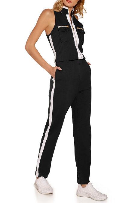 Chic zip jumpsuit image