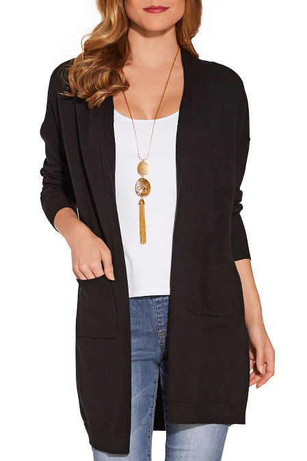 Long sleeve must have cardigan image
