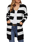 Long Sleeve Stripe Must Have Cardigan Photo