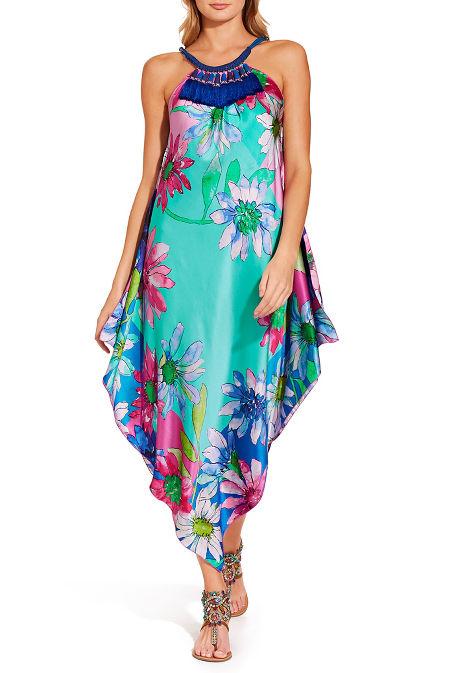 Necklace floral dress image