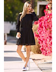 Off The Shoulder Lace Inset Dress Photo