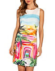 Tropical Landscape Dress Photo