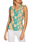 V Neck Multi Lace Top Photo