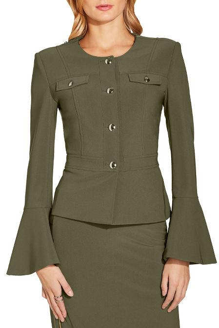 Beyond travel™ military jacket image
