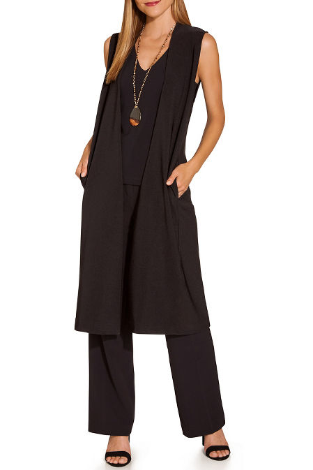 Beyond travel™ sleeveless vest image