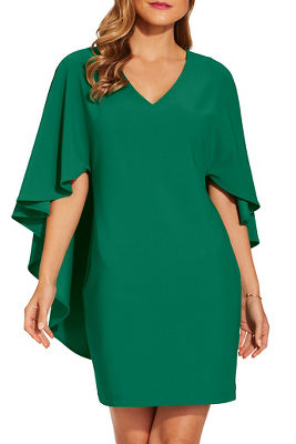 Beyond travel™ cape dress