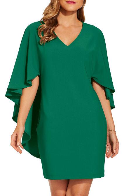 Beyond travel™ cape dress image