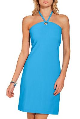 Beyond travel™ halter neck dress