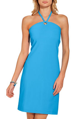 Beyond travel™ halter neck dress