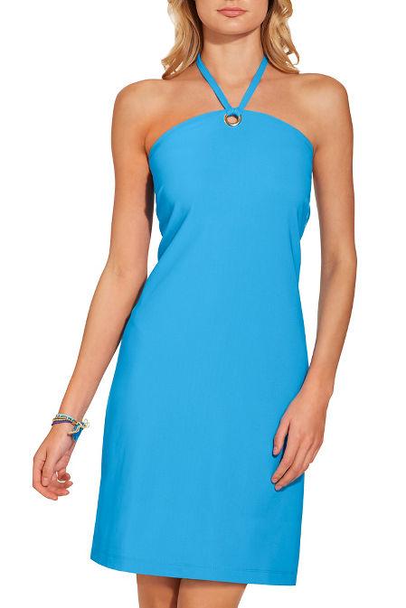 Beyond travel™ halter neck dress image