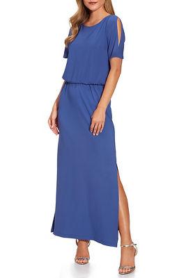 Beyond travel™ blouson maxi dress