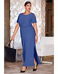 Beyond Travel™ Blouson Maxi Dress Photo