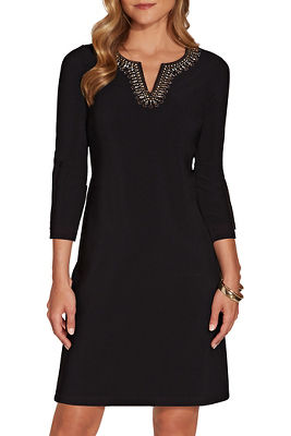 Beyond travel™ embellished dress