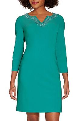 Beyond travel™ embellished dress