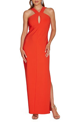 Beyond travel™ keyhole maxi dress
