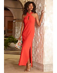Beyond Travel™ Keyhole Maxi Dress Photo