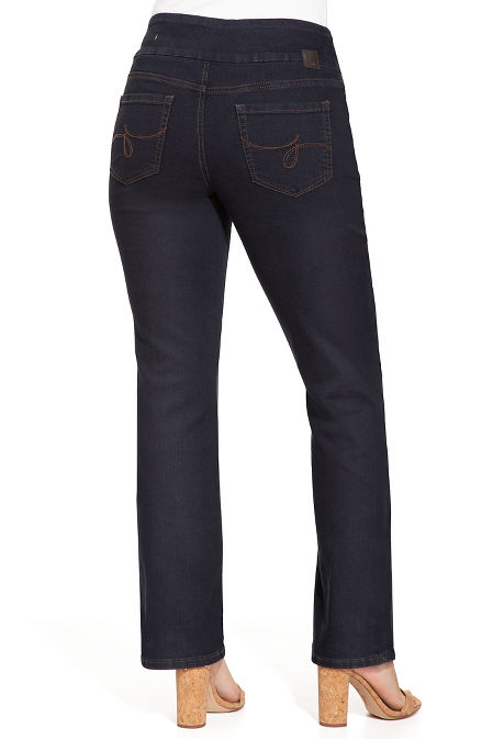 Paley bootcut pull on jean image