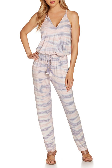 Tye-dyed jumpsuit image
