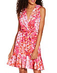 Floral Flounce Dress Photo