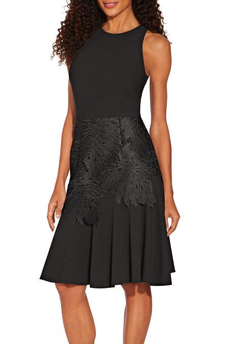 Flutter lace dress image
