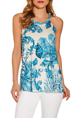 sea life sleeveless top